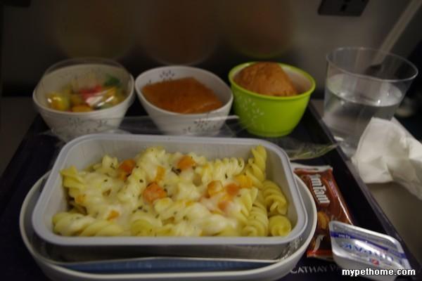 818飞机上的食物