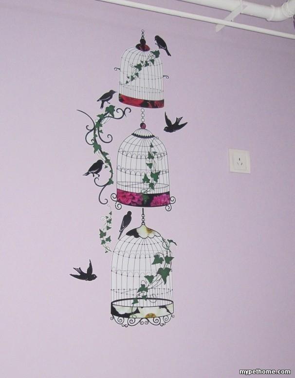 十字绣手工楼 墙贴 圣诞兜兜